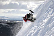 free-skating, motor sports, mountain, scooter, scooters, snow, snow scooters, snow-spray, snowmobile, snowmobile, winter, äventyr