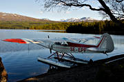 aeroplane, Ann lake, aviation, Bunnerviken, communications, Cub, Jamtland, Piper, seaplane, seaplane