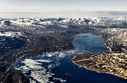aerial photo, aerial photo, aerial photos, aerial photos, drone aerial, drönarfoto, fjällbilder, ice break-up, Lapland, mountain lake, Siddasjavri, snow melt, summer, swedish mountains, vattenkraftsutbyggnad