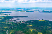 aerial photo, aerial pictures, attractions, channel, communications, drone aerial, Göta kanal, installations, lake, landscapes, samhällen, Sjötorp, summer, Vänern, Västergötland, water