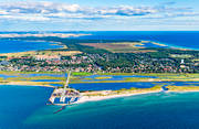 aerial photo, aerial pictures, drone aerial, Falsterbo, fishing port, Flommen, landscapes, naturreservat, samhällen, Skanör, Skåne, small-boat harbour, summer