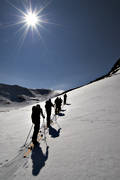 backcountry skiers, getryggen, haute route, mountain, randonnee, ski touring, skier, skies, skiing, winter, äventyr