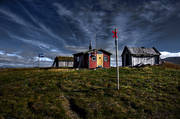 alpine hiking, alpine mountains, buildings, cottage, landscapes, Lapland, sami cottage, seasons, Slipsiken, summer, wilderness