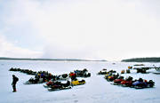 communication, Great Lake, ice, motor sports, snowmobile, snowmobile, Vekon, winter, äventyr