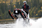 drips of water, motor sport, snowmobile, snowmobile, summer, äventyr