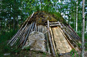 ancient monument, ancient monuments, antiquity, backedal, buildings, culture, dwelling, engineering projects, Herjedalen, hut, stone age, stone age hut