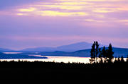 Areskutan, blueing, dusk, forests, Froson, Great Lake, Jamtland, lakes, landscapes, mountain, mountain, scenic alpine view, summer