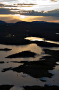 aerial photo, aerial pictures, ambience, ambience pictures, Anaris, Anaris Mountains, atmosphere, drone aerial, dusk, evening, Jamtland, lake, lakes, landscapes, mountain lake, mountain lakes, Storslitingarna, summer