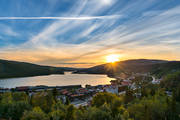 Are, Are lake, Are valley, Jamtland, lake, landscapes, nature, samhällen, summer, sunset, view