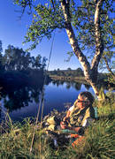 anglers, anglers, angling, break, Enan, fishing, flyfishing, rest, swimfeeder