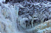 attraction, attractions, fall, frozen, Indal river, Jamtland, landscapes, nature, tannforsen, water fall, western jamtland