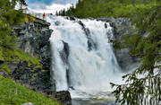 are river, attraction, attractions, fall, Indal river, Jamtland, landscapes, stream, tannforsen, tourism, tourist goal, vatten, water fall