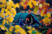 alpine hiking, autumn, autumn colours, camping, father and child, outdoor life, summer, tent, tenting, wild-life, äventyr