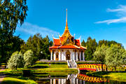 attraction, attractions, buildings, Chulalongkorn, Chulalongkorns, installations, Jamtland, jämtlandsbilder, Kung Chulalongkorn, pavilion, pavilion, summer, temple, thai, Thaipaviljongen, Utanede