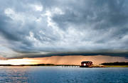 Bohuslän, cloud, coast, cumulonimbus cloud, cumulunimbusmoln, landscapes, nature, Resö, sea, seasons, sky, summer, sunset, thunder, thunder cloud, thunderstorm