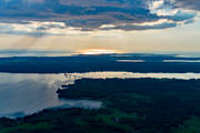 aerial photo, aerial pictures, bridge, drone aerial, Fågelö, Hemmingstorp, landscapes, summer, Sundet, Sundsören, Torsö, Västergötland