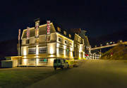Are, buildings, byggationer, evening, hotell, house, installations, Jamtland, Tott