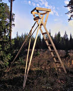 equipment, hunting, hunting tower, shooting tower, jaktutrustning, torn, transportable