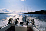 angling, fishing, Great Lake, trolling, trolling boat