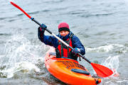kayak, outdoor life, sport, summer, tube, paddle, water sports, äventyr