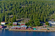 aerial photo, aerial pictures, Angermanland, drone aerial, installations, landscapes, northern, samhällen, summer, Ulvöarna, Ulvön