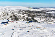 aerial photo, aerial pictures, drone aerial, Herjedalen, installations, Ripfjället, ski resort, ski resort, ski slopes, Vemdalsskalet, winter