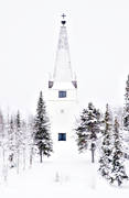 buildings, church, churches, Lapland, Victoria Church, wasteland, wilderness, woodland