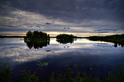 glassily, ground image, island, islands, lake, landscapes, Medelpad, seasons, sjöutsikt, summer, view