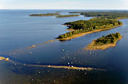 aerial photo, aerial pictures, drone aerial, landscapes, summer, West Bothnia