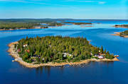 aerial photo, aerial photos, autumn, drone aerial, landscapes, West Bothnia