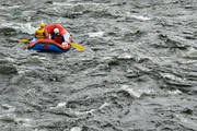 boat, excitement, Pite river, rubber boat, stream, summer, tube, paddle, water sports, white-water rafting, äventyr