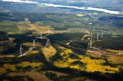 aerial photo, Almasa, ange, drone aerial, electrical energy, electrical power, electricity production, energy, energy production, environment, environmental influence, Jamtland, landscapes, Näldsjön, Offerdal, power plants, power production, Råshön, vindsnurra, vindsnurror, wind power, wind power plants, wind power plants, work