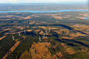 aerial photo, aerial photo, aerial photos, aerial photos, Almasa, ange, autumn, drone aerial, electrical energy, electrical power, electricity production, energy, energy production, environment, environmental influence, Jamtland, landscapes, Offerdal, power plants, power production, Råshön, vindsnurra, vindsnurror, wind power, wind power plants, wind power plants, work