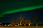 celestial phenomen, Jamtland, nature, night, northern lights, polar lights, polar night, sky, Sorviken, winter