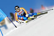 alpine world cup, Are, competition, down-hill running, downhill skiing, fast, niklas rainer, quick, skier, skiing, skiing contest, speed, sport, track, winter