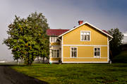 Are, attractions, autumn, buildings, farm, house, Jamtland, seasons, Thottmark, Tottens byväg, yellow